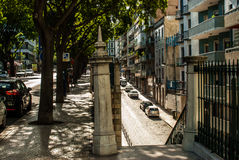 Street scene in Lisbon, Portugal july 2015 Stock Image