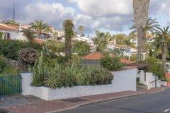 Street scene at Madeira, Portugal Stock Image