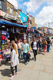 Street scene the main road in Camden, London, UK Royalty Free Stock Photo
