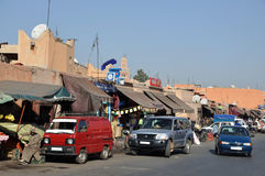 Street scene in Marrakesh Royalty Free Stock Image