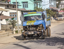 Street scene, Myanmar, Royalty Free Stock Images