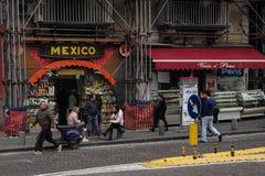 Street scene Naples, Italy. Stock Photography