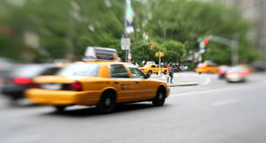 Street scene, New York Stock Image