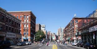 Street scene New York. City royalty free stock images