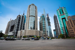 Free Street Scene Of Shanghai Financial Center Royalty Free Stock Images - 32267619