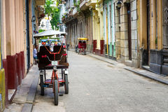 Street scene in Old Havana Royalty Free Stock Image
