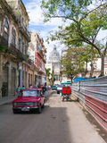 Street scene in Old Havana Royalty Free Stock Images
