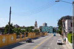 Street scene in Old Havana, Cuba Stock Photo