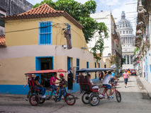 Street scene in Old Havana Royalty Free Stock Photo