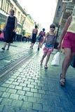 Street scene in Oradea Stock Photography