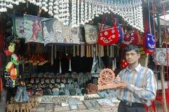 Street scene of Orissa state of India Royalty Free Stock Photos