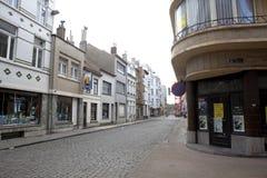 A street scene in Ostend, Belgium Stock Photos