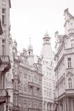 Street Scene, Prague Stock Images