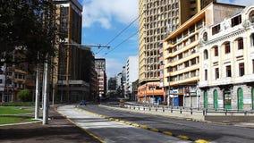 A street scene in Quito, Ecuador stock video