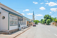 Street scene, Richmond, South Africa Stock Images