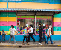 Street Scene in San Jose Costa Rica Stock Photography