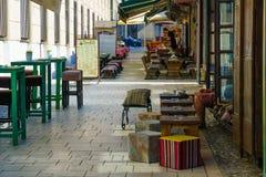 Street scene, Sarajevo Stock Photo