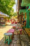 Street scene, Sarajevo Royalty Free Stock Photos