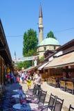 Street scene, Sarajevo Stock Images