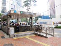 Street scene in Seoul Royalty Free Stock Photos