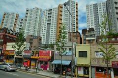 Street scene in Seoul Royalty Free Stock Image