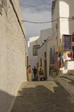 Street scene in Skala, Greece Stock Photography