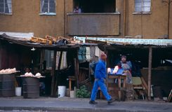 A street scene in South Africa Royalty Free Stock Photography