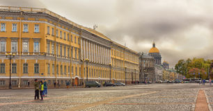 Street scene in St Petersburg. Royalty Free Stock Photography