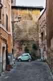 Street scene from Trastevere Stock Image