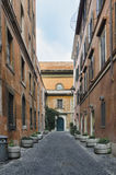 Street scene from Trastevere Royalty Free Stock Photos