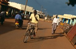 Street scene in Uganda Royalty Free Stock Images