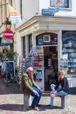 Street scene in Utrecht, Netherlands Royalty Free Stock Image