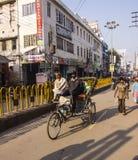 Street scene in Varanasi Stock Image