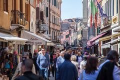 Street scene in Venice Royalty Free Stock Photos