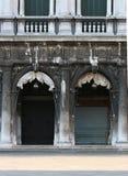 Street scene in venice italy. Old Street scene in venice italy Stock Photos