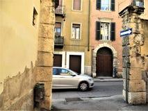 Street scene, Verona, Italy, October