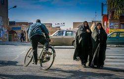 Street scene in Yazd Royalty Free Stock Images