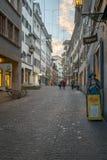 Street Scene, Zurich Royalty Free Stock Image