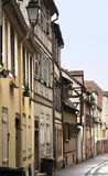 Street scenery in Colmar Stock Image