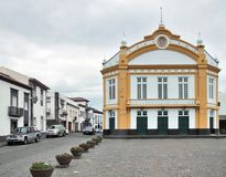 Street scenery at Ponta Delgada Stock Photography