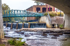 Street scenes around falls park in greenville south carolina Royalty Free Stock Photography