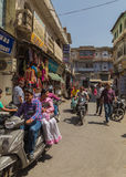 Street Scenes in Udaipur, India Stock Image