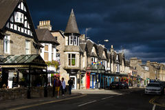 Street of Scotland Royalty Free Stock Photography
