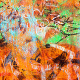 Street Scribbles Royalty Free Stock Image