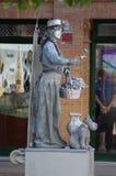 A street sculpture 102 Stock Photography