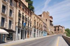 Street in Segovia, Spain Stock Photo