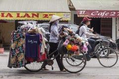 Street seller Stock Photography