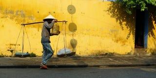 Street seller Stock Images