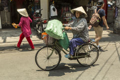 Street sellers in Vietnam stock photos
