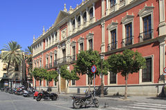 Street in Seville, Spain stock images